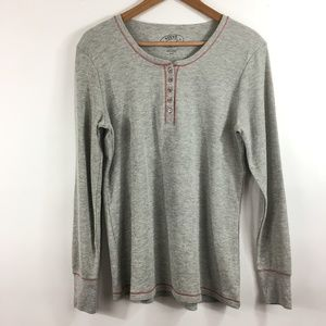 Steve Madden Thermal Top SZ L Pullover Layer D18